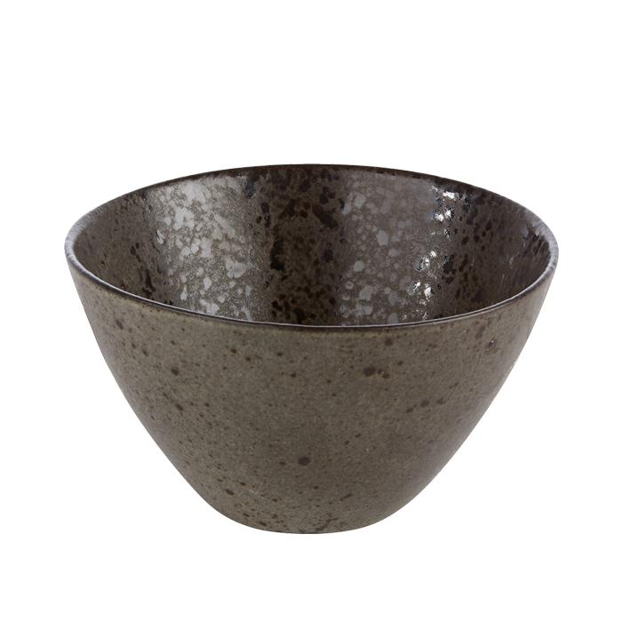 kom 15cm iron stone rustico reactieve glazuurlaag