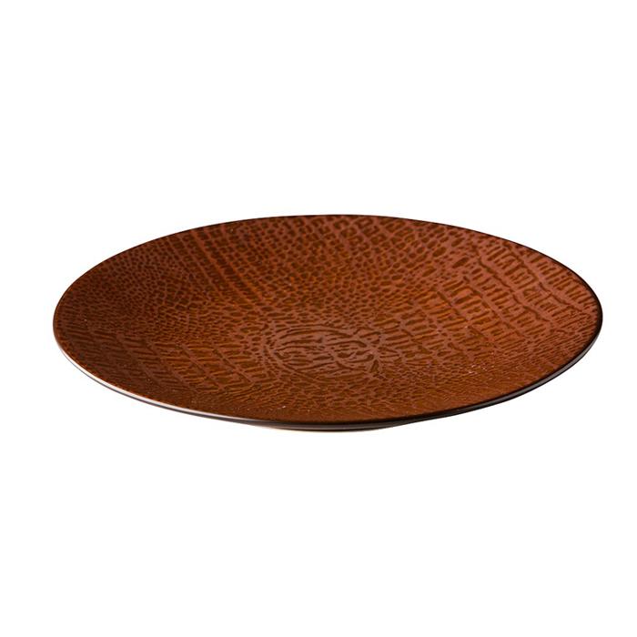 bord 21cm q authentic croco