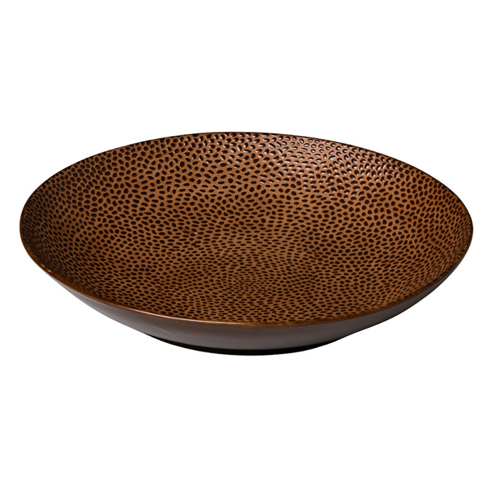 coupebord pastabord 25 5cm q authentic leopard