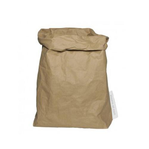 Broodzak opbergzak wasbaar papier naturel Essential