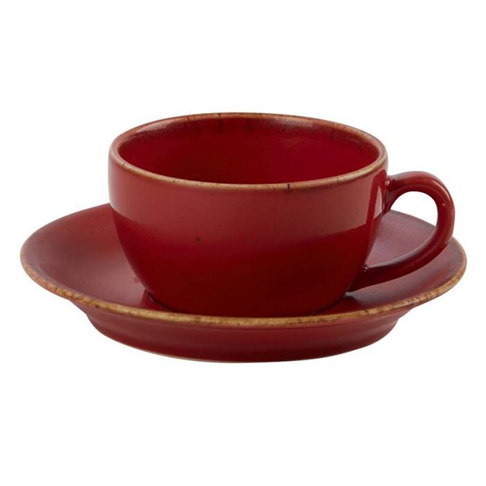 porcelite seasons koffiekop koffieschotel 34cl magma