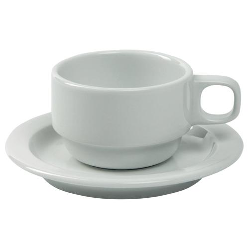 Koffiekop koffieschotel scandic wit Nova hotelporselein
