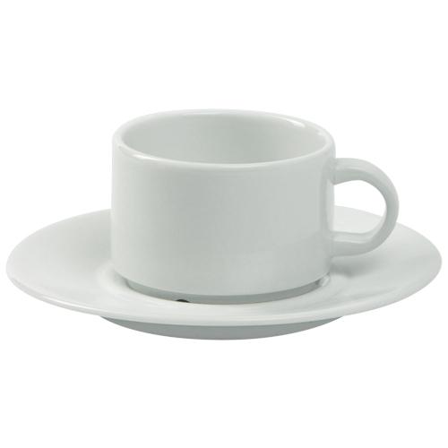 Koffiekop koffieschotel Ocean wit Nova hotelporselein