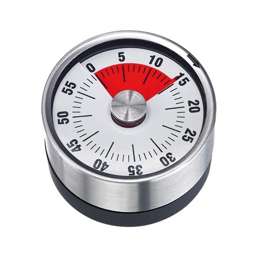 Kookwekker roestvrijstaal kunststof 60 minuten met magneet