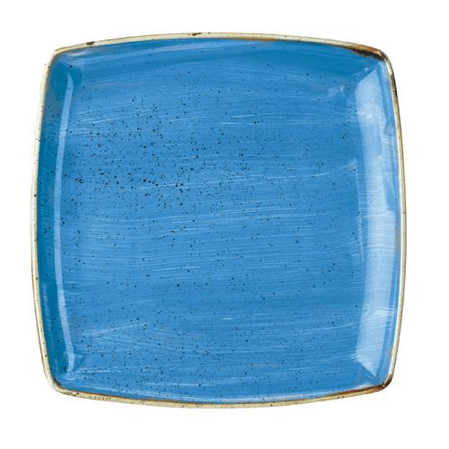 bord diep vierkant 26,8cm churchill stonecast cornflower blue SCFSDS101