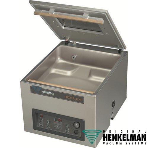 Vacuummachine vacumeermachine Henkelman Boxer 42XL Bi ACTIVE logo