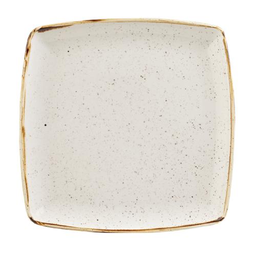 bord diep vierkant 26 8cm churchill stonecast barley white SWHSDS101