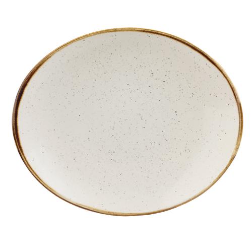 bord ovaal 19 2cm churchill stonecast barley white SWHSOP7 1