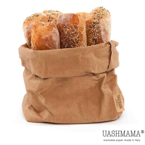 Paper bag papieren zak UASHMAMA natural