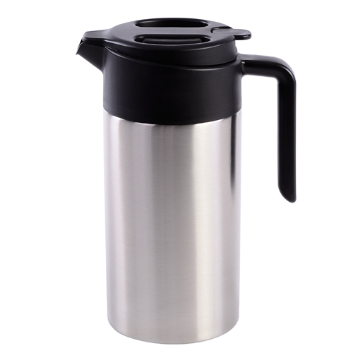 Isoleerkan EasyOpen dubbelwandig roestvrijstaal koffie 1,2 en 1,6ltr.