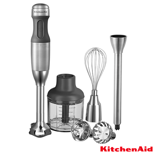 Kitchen Aid staafmixerset roestvrijstaal