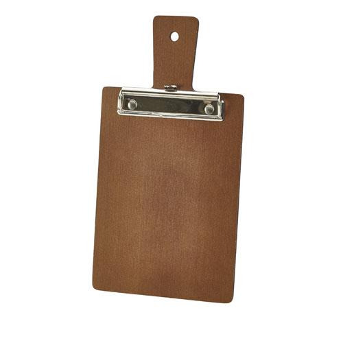 Menu rekening klembord hout bruin