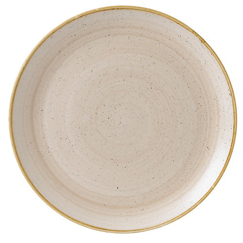 coupebord 32 4cm churchill stonecast nutmeg cream SNMSEV121