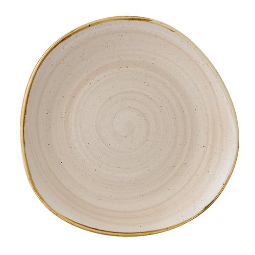 bord organic 28 6cm churchill stonecast nutmeg cream SNMSOG111
