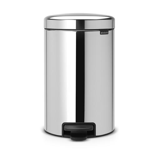 brabantia newicon 12 liter pedaalemmer metalen binnenemmer 01