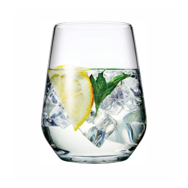 Pasabahce Allegra tumbler glas waterglas 425ml sfeer1