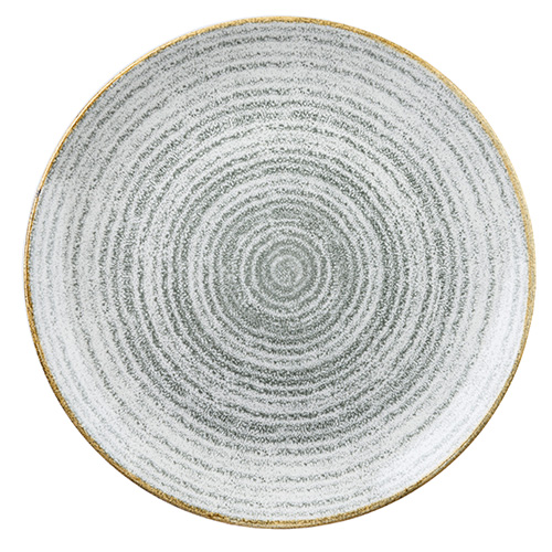 coupebord 28 8cm churchill studio prints homespun stone grey SPSGEV111
