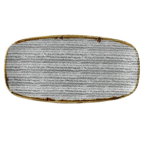bord rechthoekig 35 5x18 9cm churchill studio prints homespun stone grey SPSGXO141