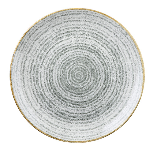coupeschaal 24 8cm churchill studio prints homespun stone grey SPSGEVB91