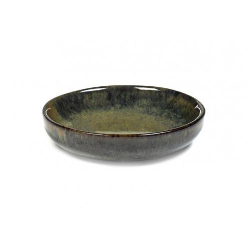 olijfbordje schaaltje 9cm indy grey surface by sergio herman serax