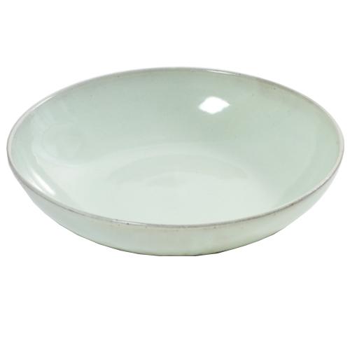 serveerschaal bord diep aqua mintgroen 33cm serax servies