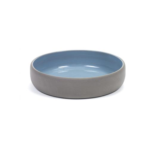 bord diep m 14 5cm antracietgrijs blauw martine keirsebilck dusk serax
