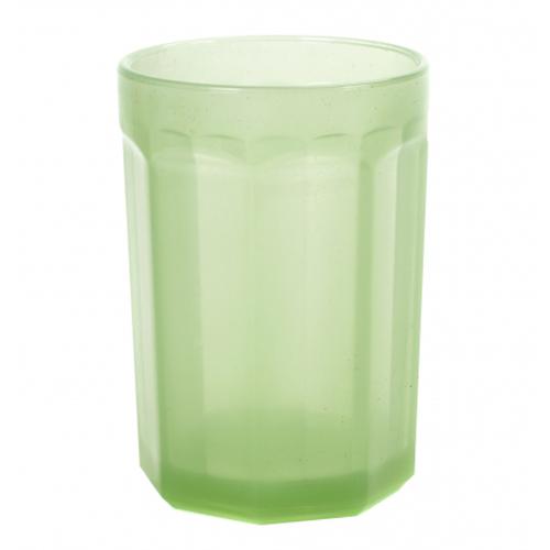 drinkglas large 40cl geperst glas jade groen fishfish serax servies