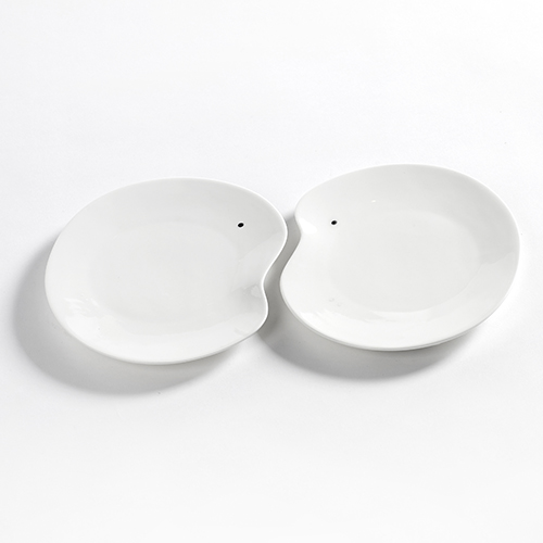 bord medium 17cm set 2stuks kleur wit facing food serax servies