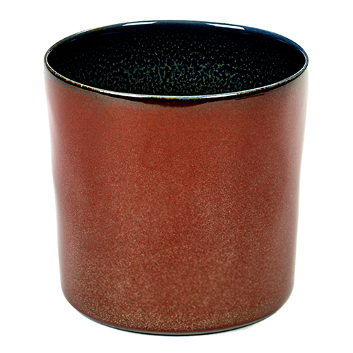 beker 23cl kleur rust dark blue servies terres de reves serax