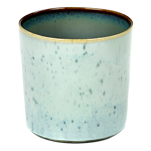 beker 23cl kleur light blue smokey blue servies terres de reves serax