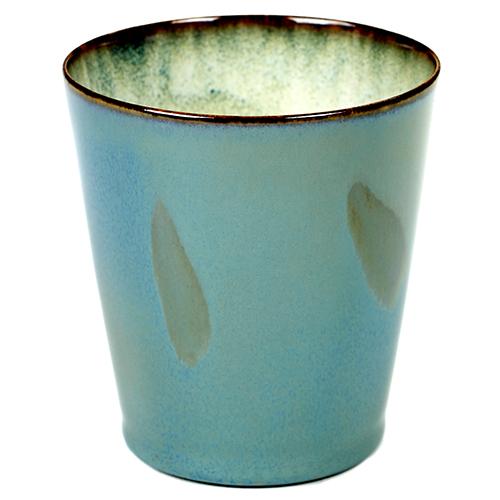 beker 34cl conisch kleur smokey blue servies terres de reves serax