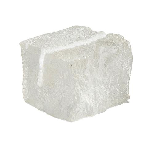 Kaarthouder model ijsblokje helder acryl