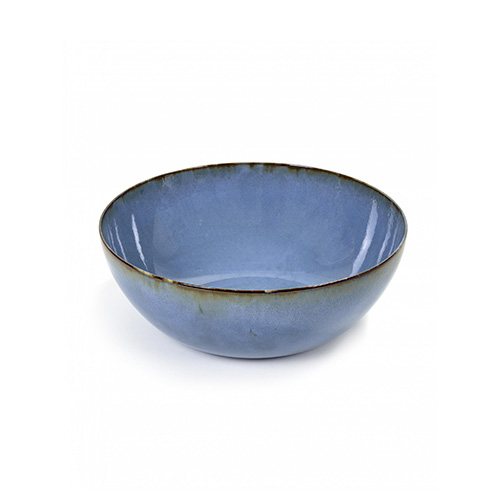 saladeschaal 27cm kleur smokey blue servies terres de reves serax