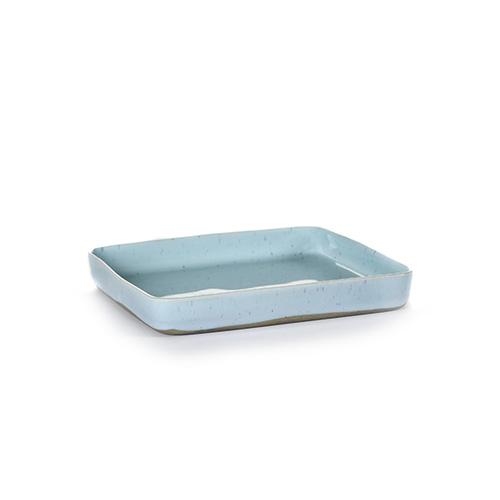 bord vierkant m 18x18cm kleur light blue servies terres de reves serax