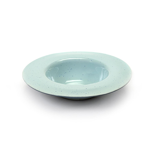 pastabord s 21 3cm kleur light blue smokey blue servies terres de reves serax