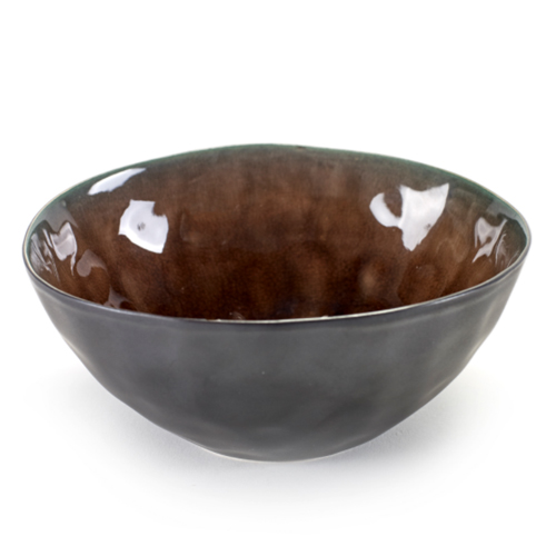 kom rond small 16cm pure pascale naessens serax servies bruin