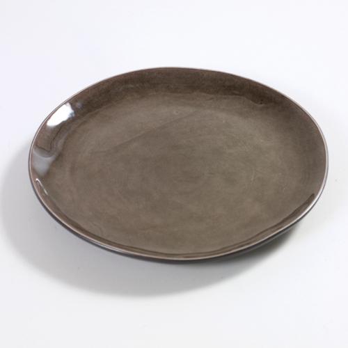 bord rond 20 5cm pure pascale naessens serax servies grijs