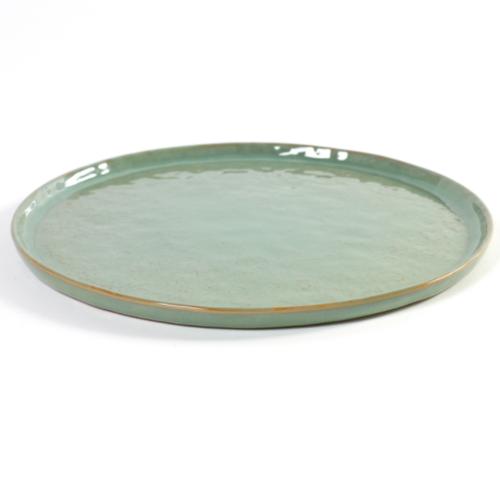 bord rond medium 27cm pure pascale naessens serax servies lichtgroen