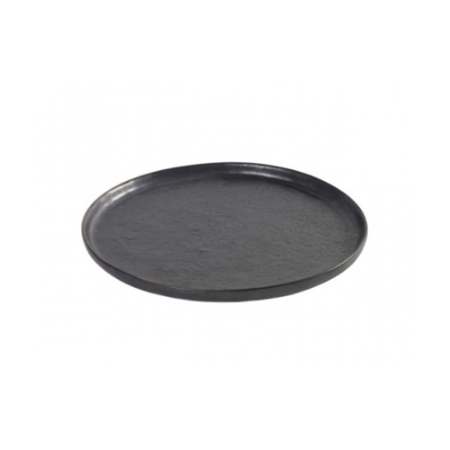 bord rond extra small 16cm pure pascale naessens serax servies zwart