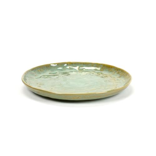 bord rond medium 20 5cm pure pascale naessens serax servies zeegroen
