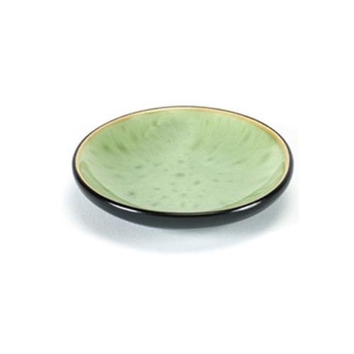 bord xs 7 5cm pure pascale naessens serax servies groen zwart