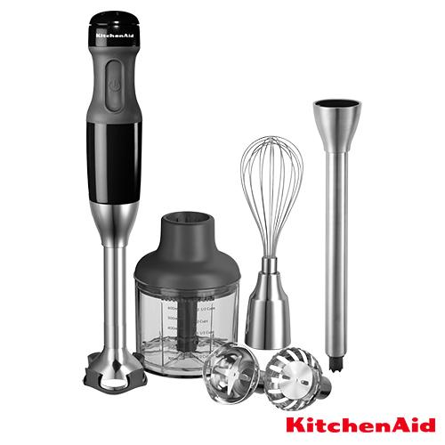 Kitchen Aid staafmixerset zwart