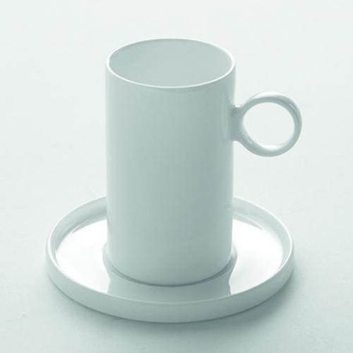 Kop schotel espresso SERAX Enchanting Geometry Ann Van Hoey