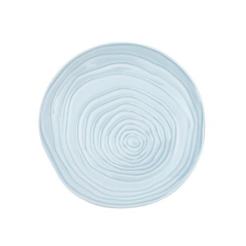 Bord diam 21 cm sky blue lichtblauw Pillivuyt Teck