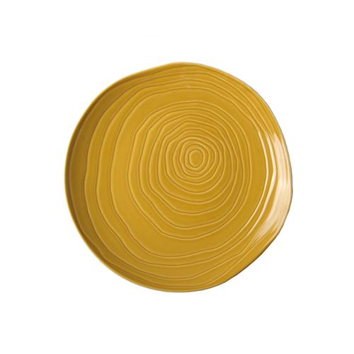 Bord diam 21 cm honey geel Pillivuyt Teck