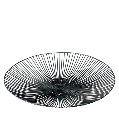 Schaal plat edo zwart SERAX Metal Sculptures Antonino Sciortino