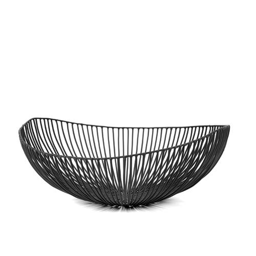 Schaal ovaal meo zwart SERAX Metal Sculptures Antonino Sciortino