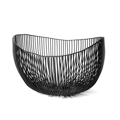 Schaal diep tale zwart SERAX Metal Sculptures Antonino Sciortino