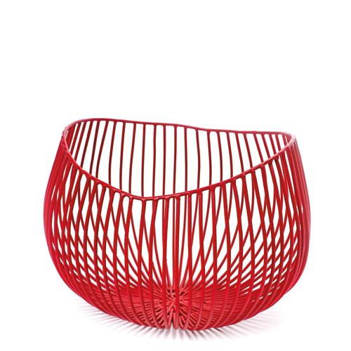 Schaal diep gio rood SERAX Metal Sculptures Antonino Sciortino