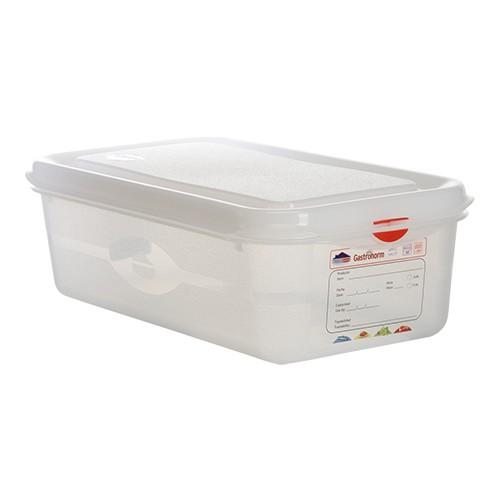 Voedseldoos Hermeticos gastronorm 1 3 hg 10cm haccp vaatwasmachinebestendig